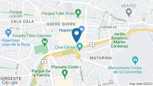 Gran Hotel Cochabamba Map