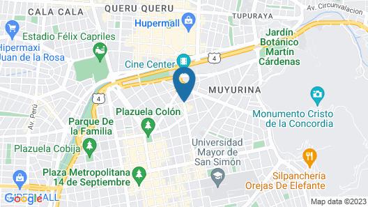 Gran Hotel Toloma Map