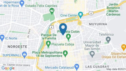 Apart Hotel Regina Map