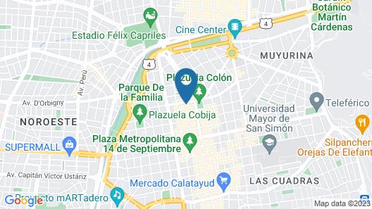 Running Chaski Hostel Map