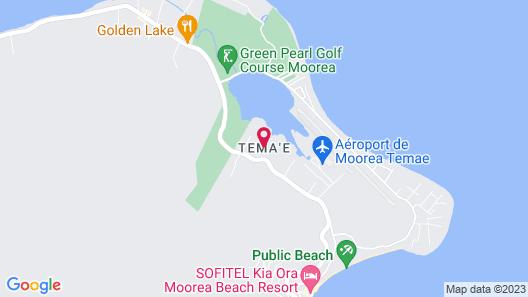 Moorea Golf Lodge Map