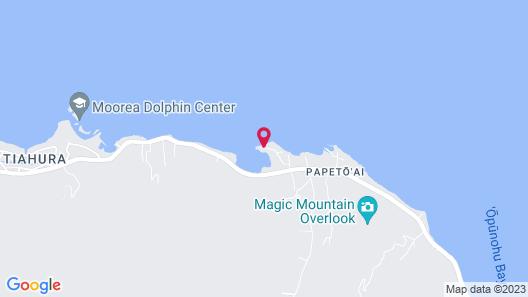 Villa Vaihau Map