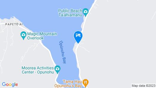 Villa Moerava Map