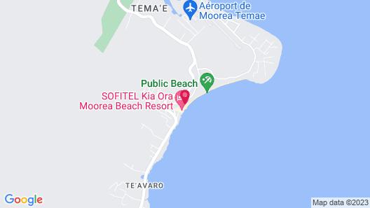 Sofitel Kia Ora Moorea Beach Resort Map