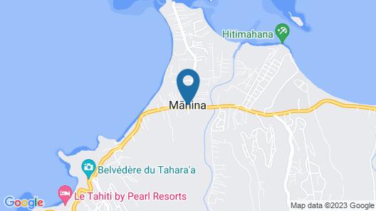 Tahiti - Chambre Tarona Map