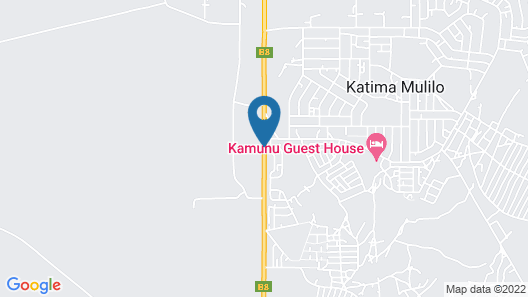 Kololo Bed and Breakfast Map
