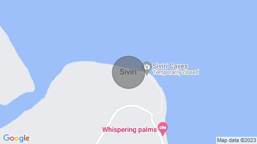 Whispering Palms Beach House - Absolute Beachfront Map