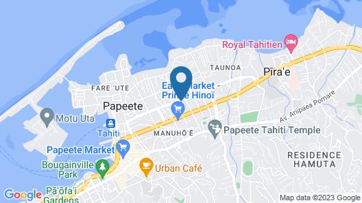 Ahitea Lodge Map