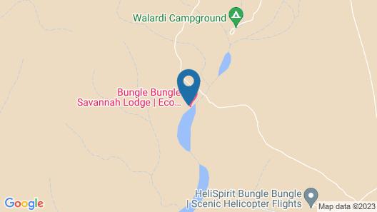 Bungle Bungle Savannah Lodge Map