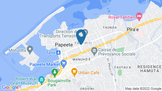 City Home Tahiti Map