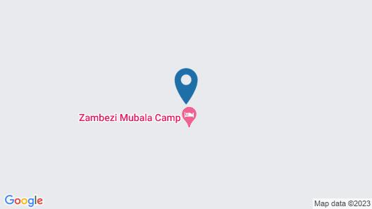 Zambezi Mubala Camp Map