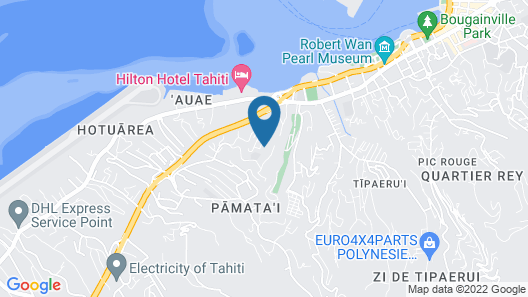 Independent Room in Papeete Map