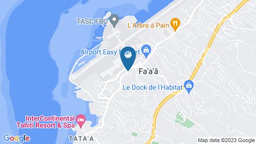 Condo Ora Airport Map