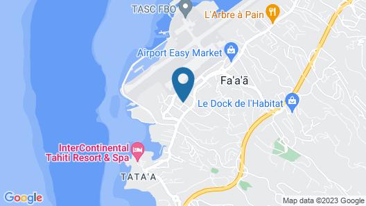 Villa Oasis Map