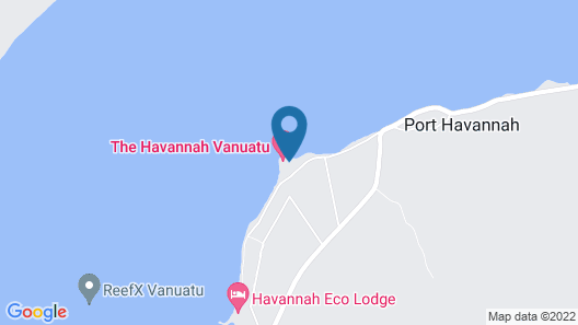 The Havannah Vanuatu - Exclusively for adults Map