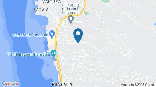 F3 Manuiti Holiday home 2 Map