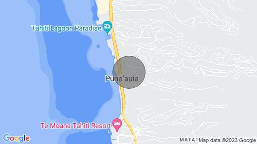 Tahiti Luxury Apartment with concierge Map