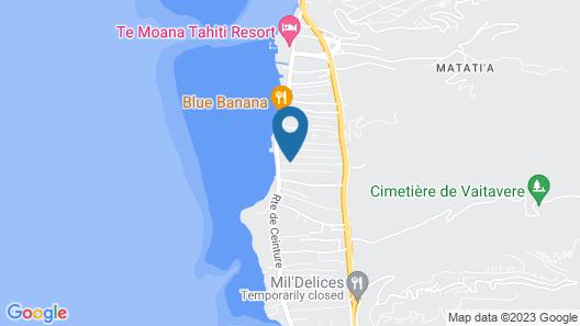 Résidence Tahiti Lodge Map