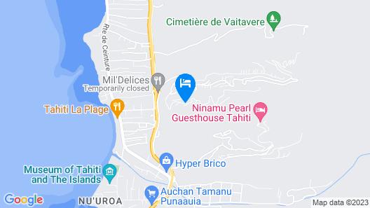 Villa Tiare Villa 4 Map