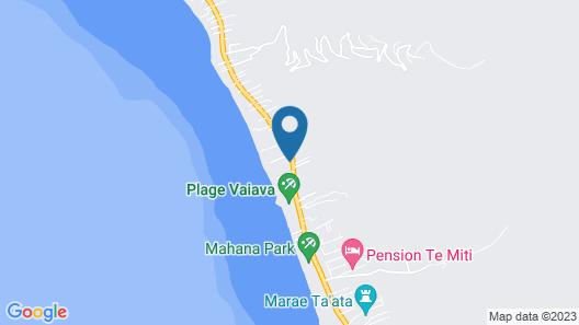 TAHITI - Carlton Plage Map