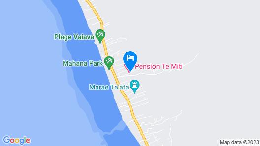 Pension Te Miti - Hostel Map