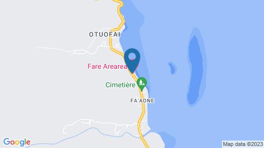 Fare Arearea Map