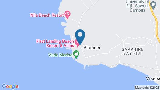 First Landing Beach Resort and Villas Map