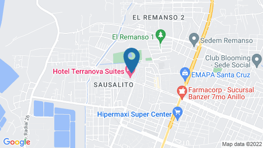 Terranova Suites Map
