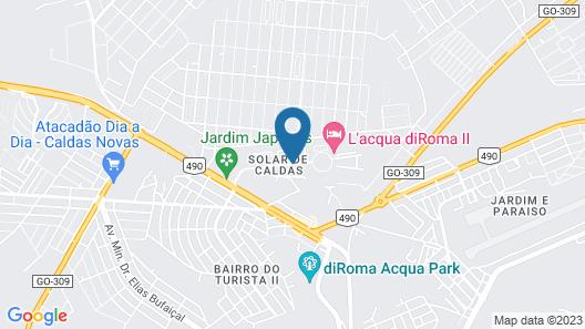 Apartment Di Roma Fiori Via Caldas Map