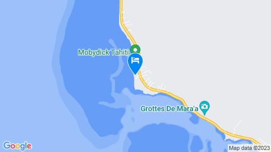 Fare Mokalei - Tahiti Map