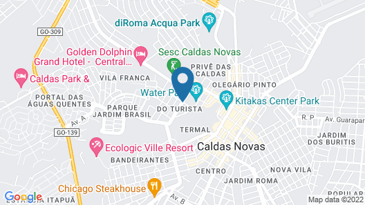 Privé Riviera Park Hotel Map