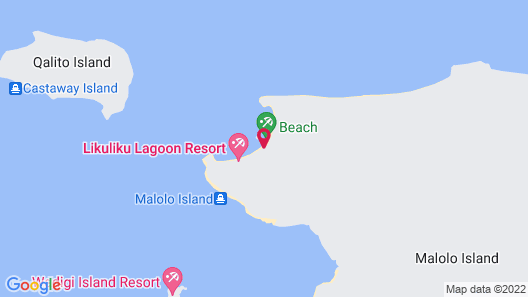 Likuliku Lagoon Resort - Adults Only Map