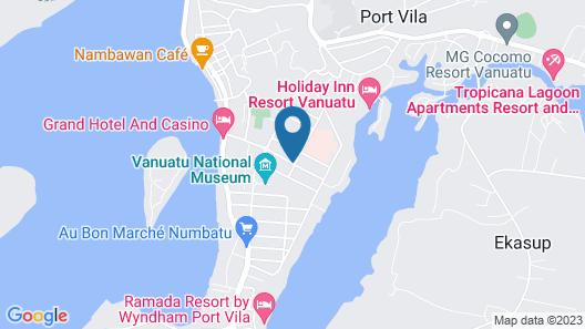 Coconut Palms Resort Map