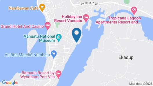 Mangoes Resort Map