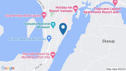 Seachange Lodge Map