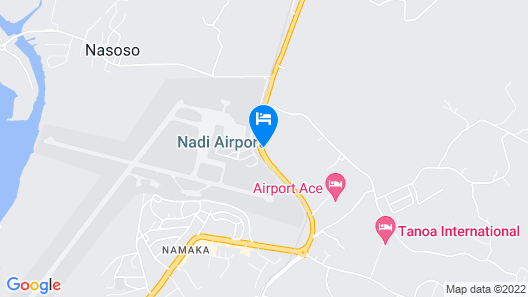 Fiji Gateway Hotel Map