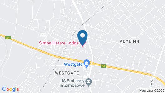 Simba Harare Map