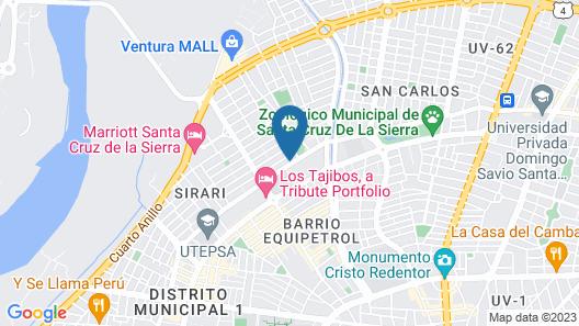 Hotel LP Equipetrol Map