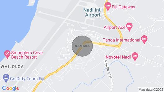 Absolute Beachfront Fiji Map