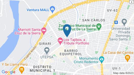 Casa Blanca Hotel Map