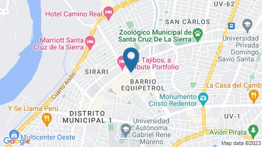 TRYP by Wyndham Santa Cruz Map