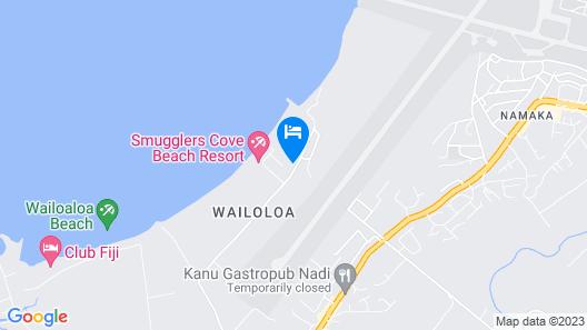 Pullman Nadi Bay Resort and Spa Fiji Map