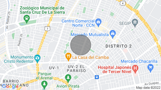 Ideal Apartment for your Family in Bolivia  Map