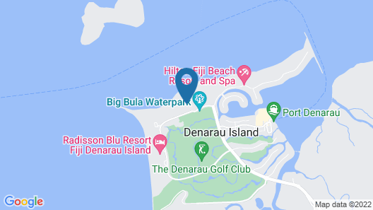 The Westin Denarau Island Resort & Spa, Fiji Map