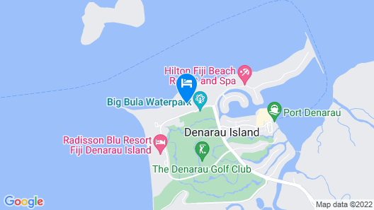 The Westin Denarau Island Resort & Spa, Fiji Map