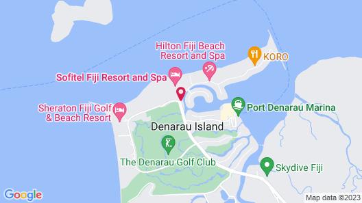Sofitel Fiji Resort And Spa Map