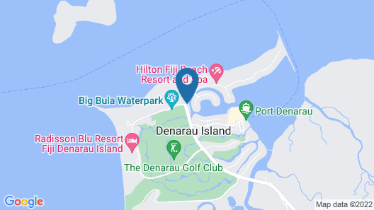 Sofitel Fiji Resort And Spa Map