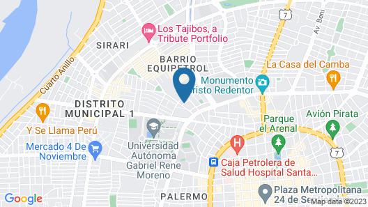 Yotau All Suites Hotel Map