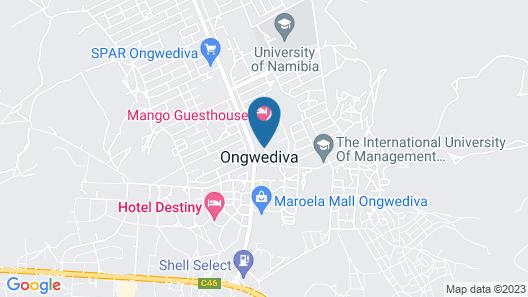 Mango Guesthouse Map
