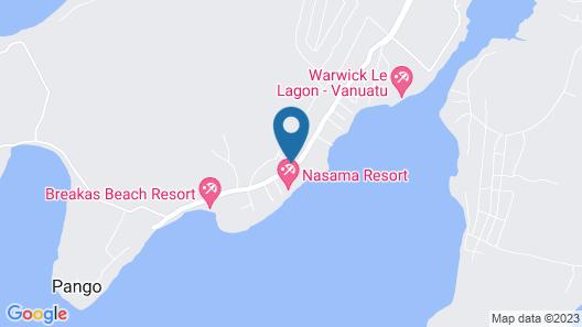 Treetops Lodge Map